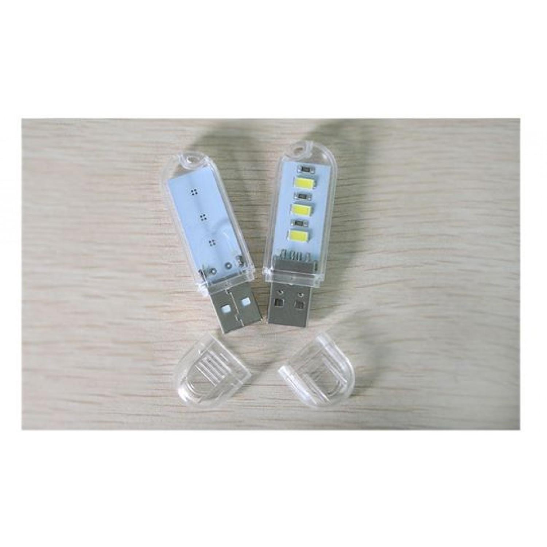 1Pcs New Mini USB LED Night light Camping lamp For Reading Bulb Laptops Computer
